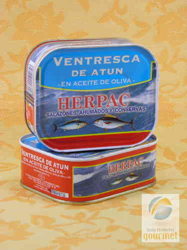 Ventresca Tuna in Olive Oil. HERPAC